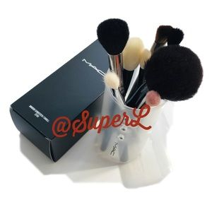MAC Expandable Makeup Brush Canister Case Holder